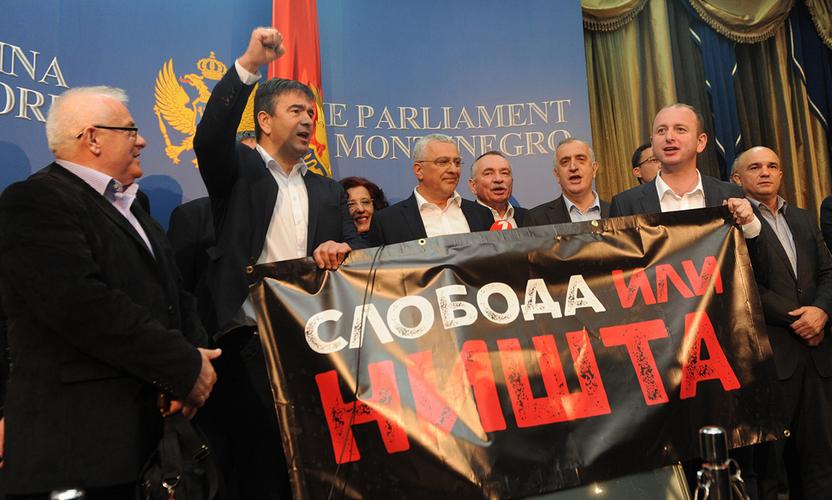 ДФ: Марковић је безбједносно-милитантним                                                  дјеловањем умало изазвао грађански рат