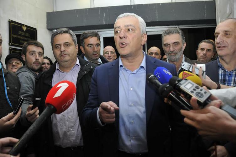 Мандић: ДФ ће ослобођење ЦГ                                                   довести до краја