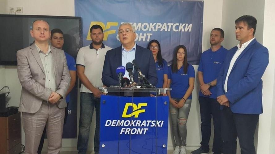 Мандић: Дио опозиције да не прави                               марионетску владу са Ђукановићем