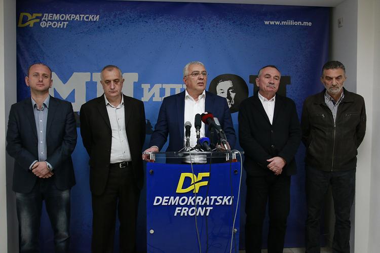 ДФ: Катнић је члан криминалне                              банде Ђукановића, Суботића и Дахлана