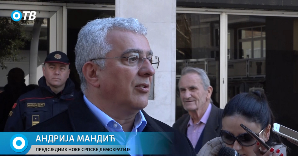 Мандић након саслушања: Русија                                       посједује много доказа против Ђукановића