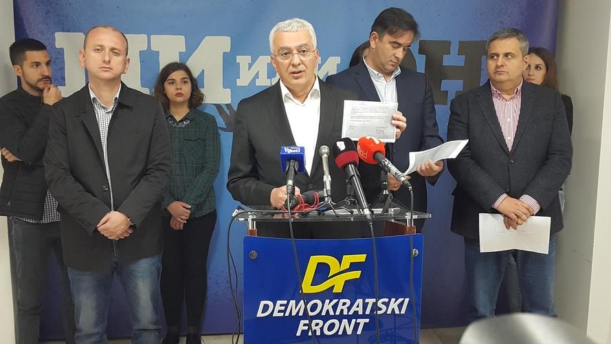 ДФ: Алтернативна народна скупштина у Мурину                                                                           и велики народни скуп на Цетињу