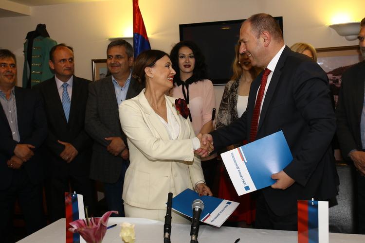 Потписан Протокол о сарадњи                                              између НСД и СНСД