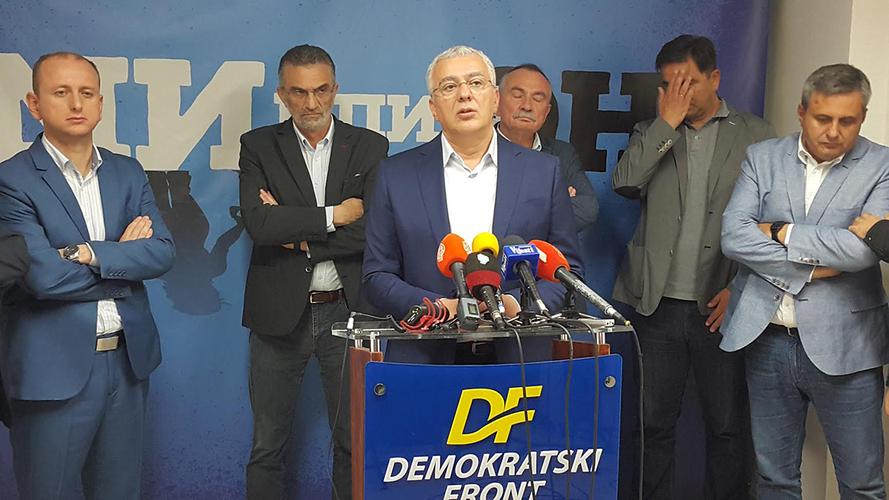 ДФ: Сви који су подигли хајку                                                  против нас мораће да одговарају!