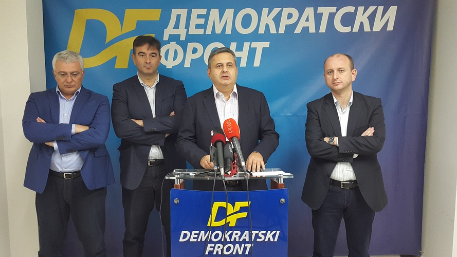 ДФ: Овом одлуком ослобођени сви учесници                                               највећег опозиционог скупа у историји Црне Горе