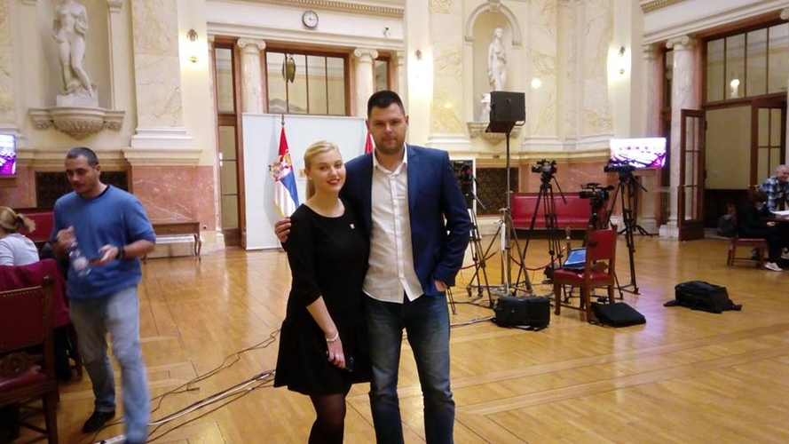 Договорена сарадња са Младом гардом,                                                                подмлатком Јединствене Русије
