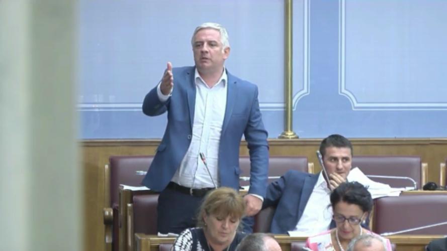 Вучуровић: Изјава да ,,због тврдоглавости ДФ                            нема сарадње у опозицији