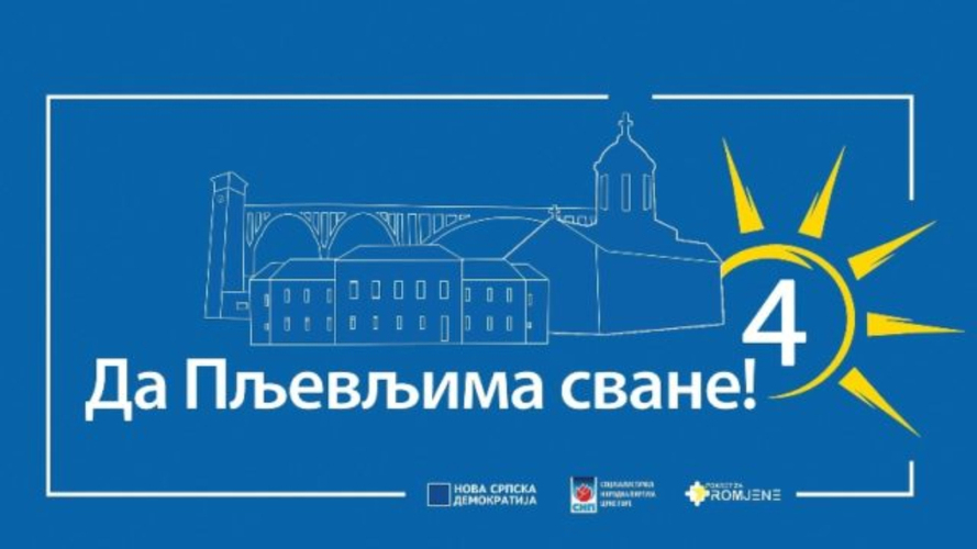 НСД-СНПЦГ-ПзП: Позивамо опозицију да се                                                              уједини у борби за будућност Пљеваља