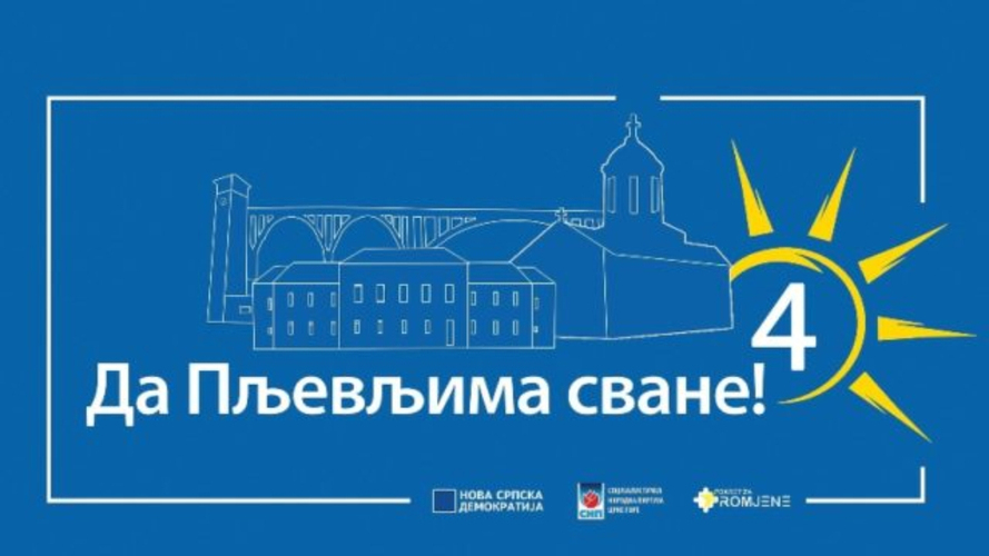 """Коалиција """"Да Пљевљима сване"""": Кампања                                                                        ДПС-а пуна уцјена и застрашивања"""