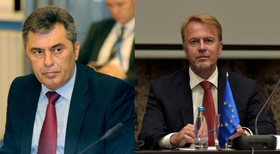 Састали се шеф Клуба посланика                                                                                           ДФ и шеф Делегације ЕУ у ЦГ