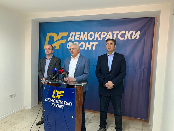 ДФ: Захтијевамо да                                                                   свједочи и Душко Марковић