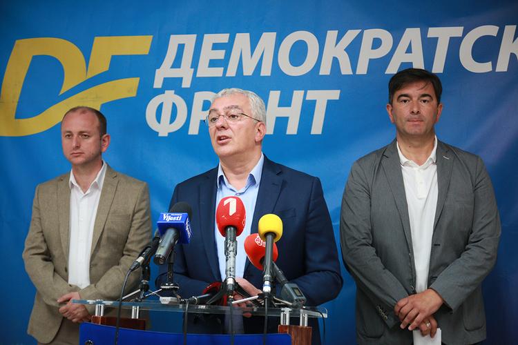 ДФ: ОЕБС на услузи                                                               мафиократском режиму